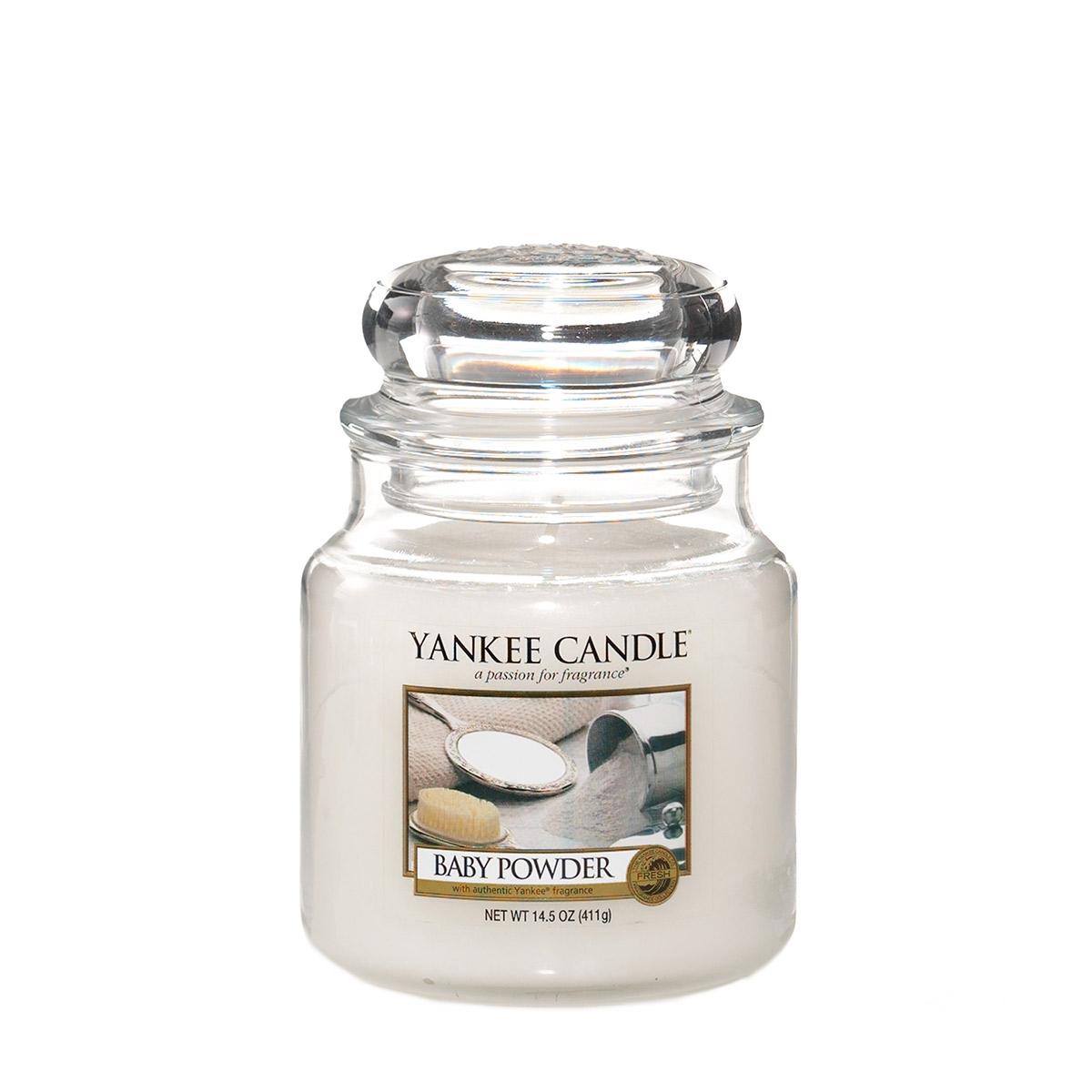 Yankee Candle Jar Medium Baby Powder