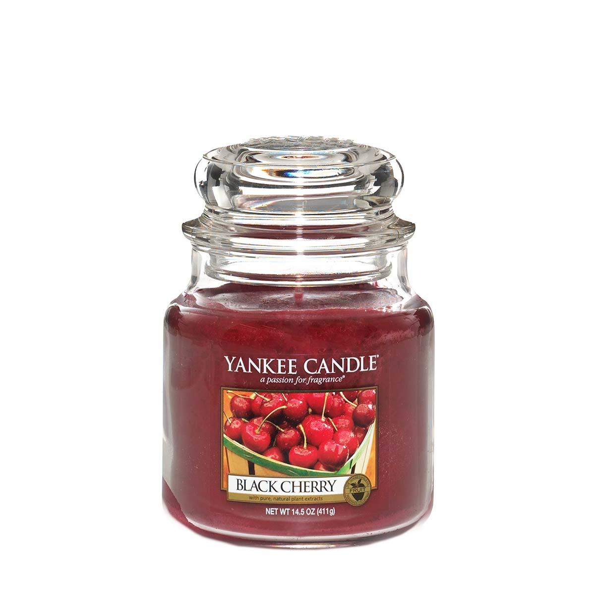 Yankee Candle Jar Medium Black Cherry