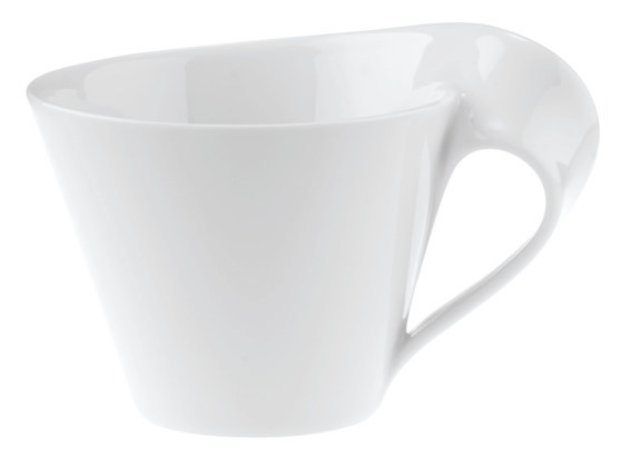 New Wave Caffe White Coffee Cup 400ml
