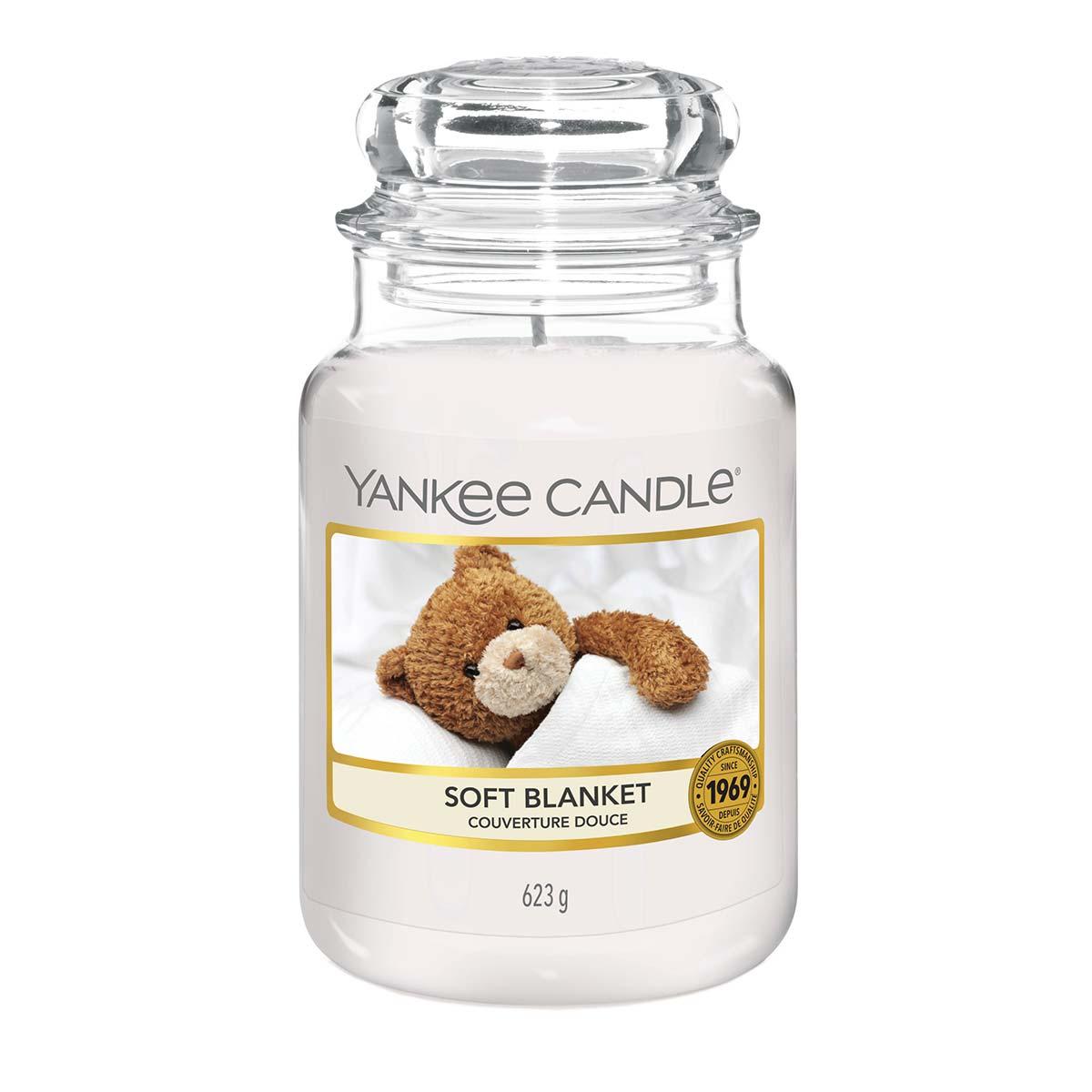 Yankee Candle Jar Large Soft Blanket