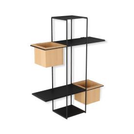 Umbra Cubist Multi Shelf Sand & Black
