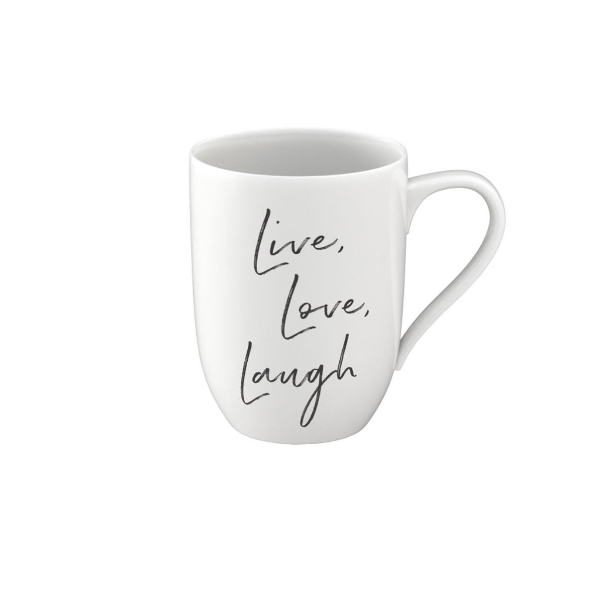 Statement Mug Live Love laugh