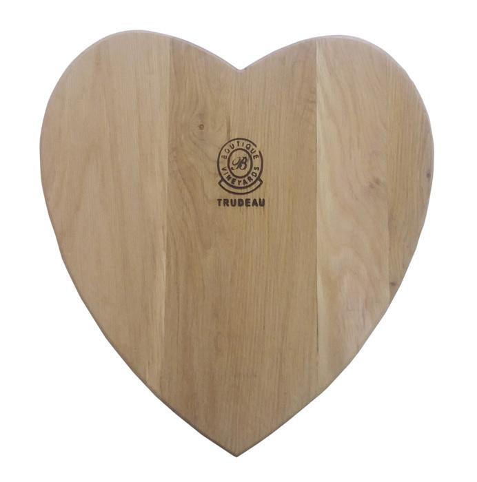 Oak Heart Board Large 42cmx43cmx2cm