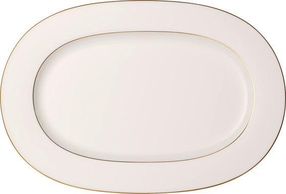 Anmut Gold Oval Platter 41cm