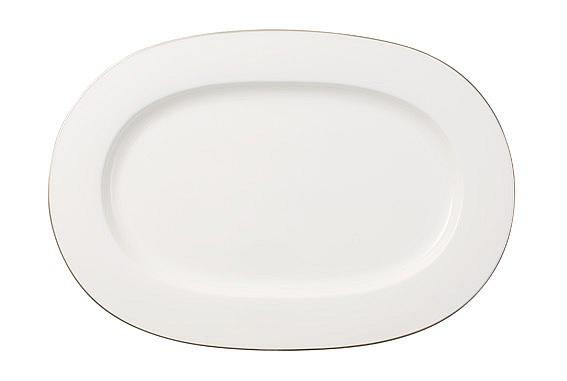 Anmut Platinum No 1 Oval Platter 41cm