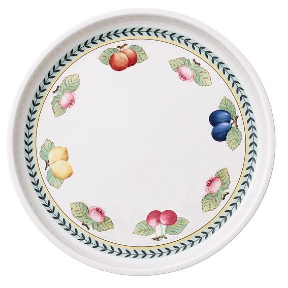 French Garden Round Serving Dish 1.18L