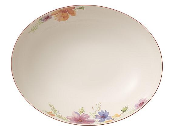 Mariefleur Oval Bowl 32cm
