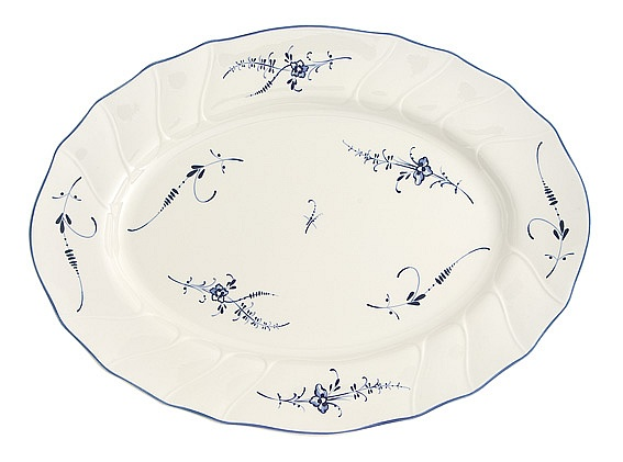 Vieux Luxembourg Oval Platter 36cm