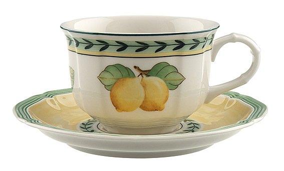 French Garden Fleurence Tea Cup & Saucer 200ml