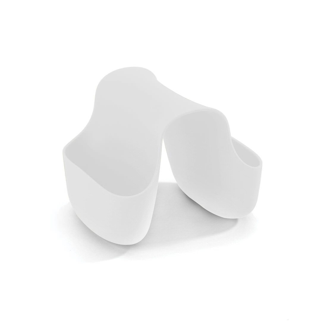 Umbra Saddle Sink Caddy Bright White