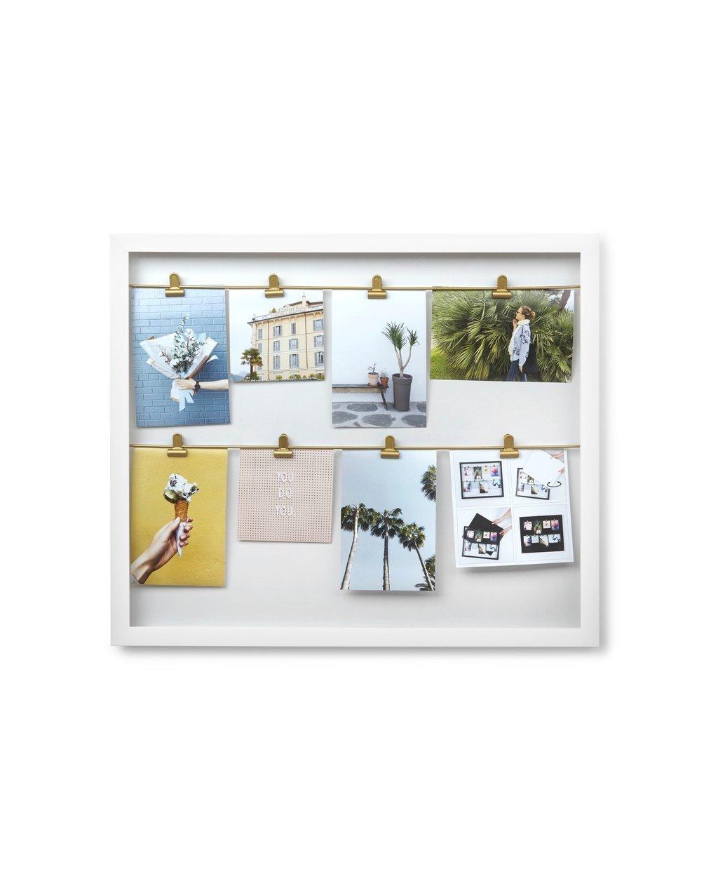 Umbra Clipline Photo Display White 50.8cm x 43.2cm
