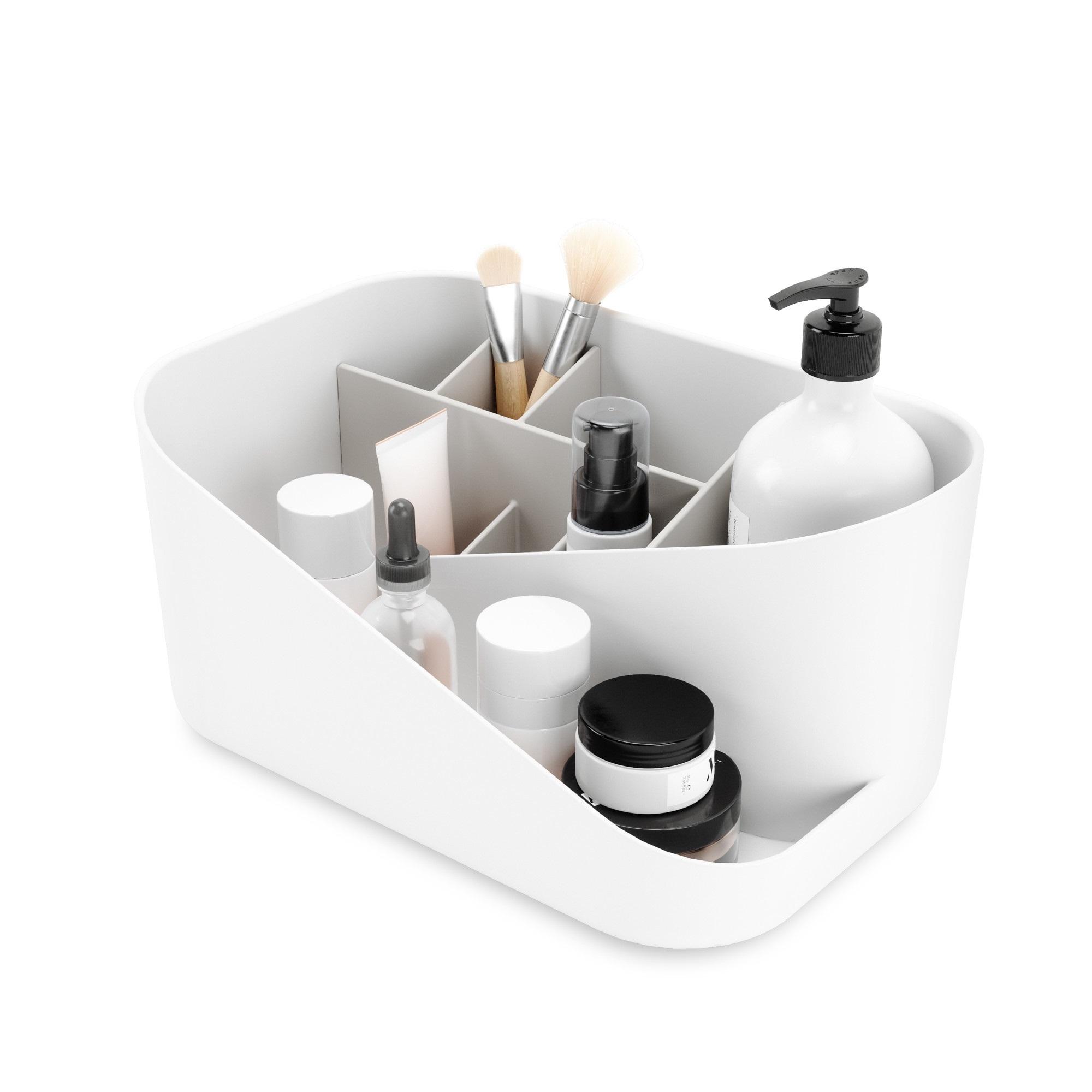 Umbra Glam Cosmetic Organizer White & Grey
