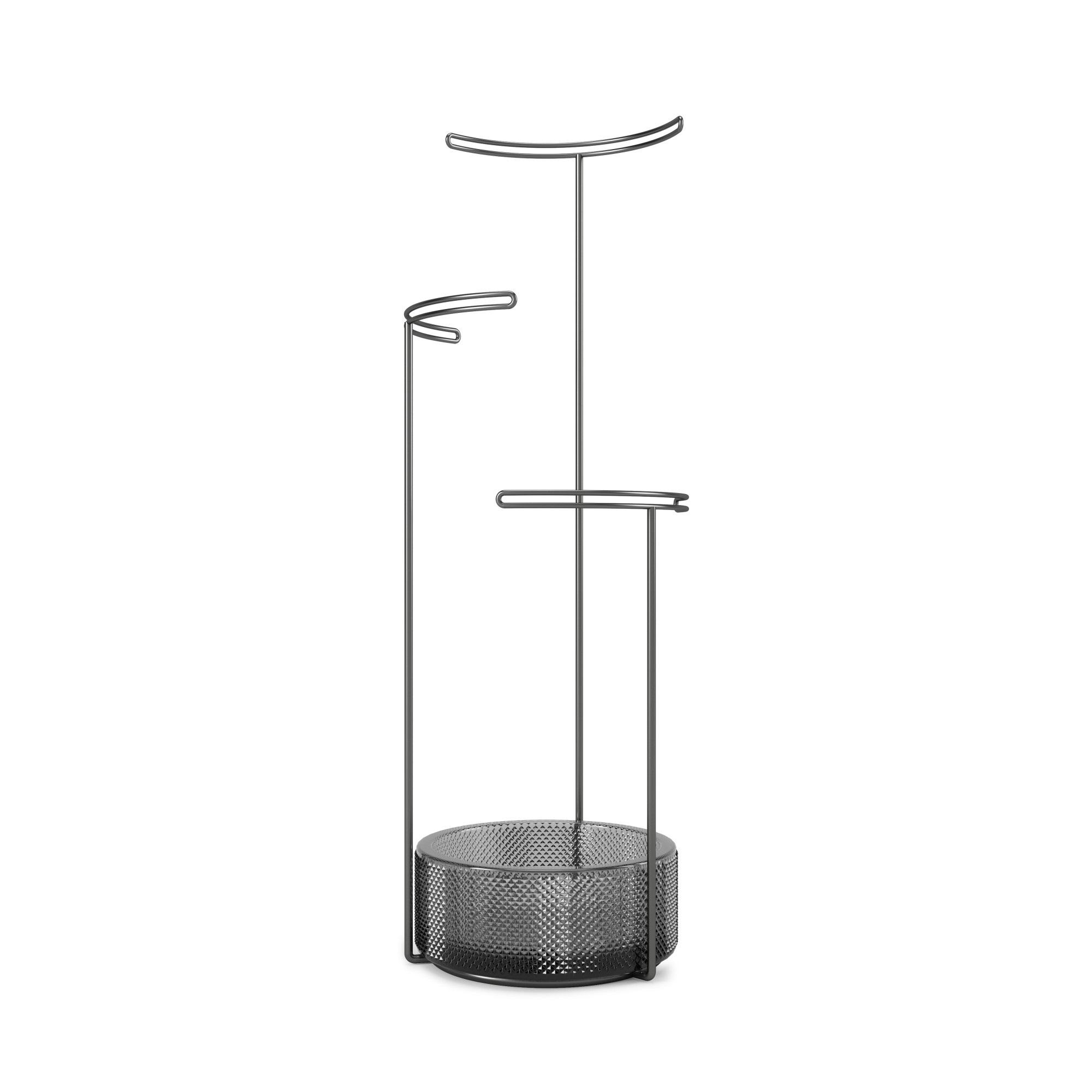 Umbra Tesora Jewel Stand Glass Smoke
