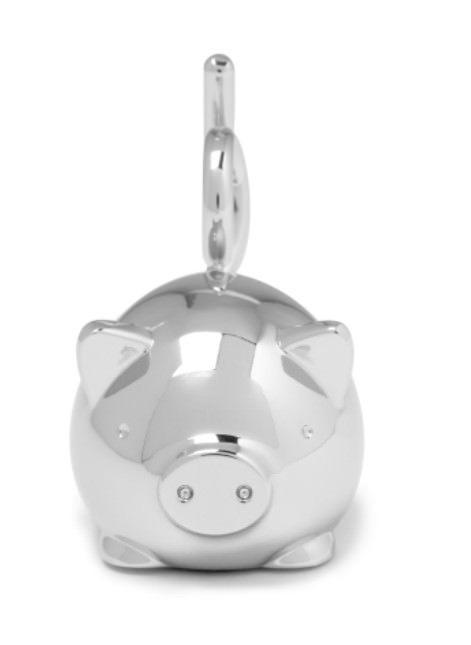 Umbra Squiggy Pig Ring Chrome