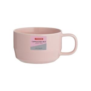 Typhoon Cafe Concept Cappuccino Mug Pink 400ml