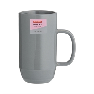 Typhoon Cafe Concept Latte Mug Dark Grey 550ml