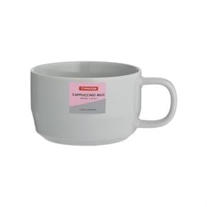 Typhoon Cafe Concept Cappuccino Mug Grey 400ml