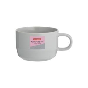 Typhoon Cafe Concept Flat White Mug Grey 300ml