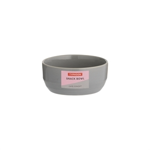Typhoon Cafe Concept Snack Bowl Dark Grey 4x9cm