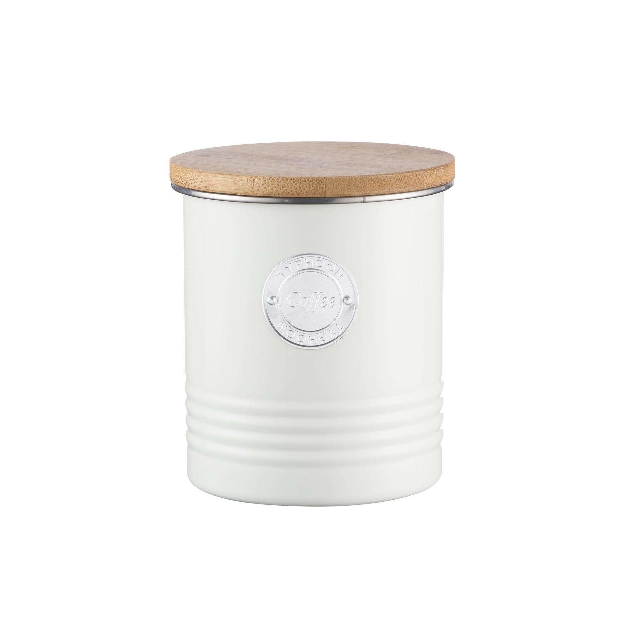 Typhoon Living Cream Coffee Canister