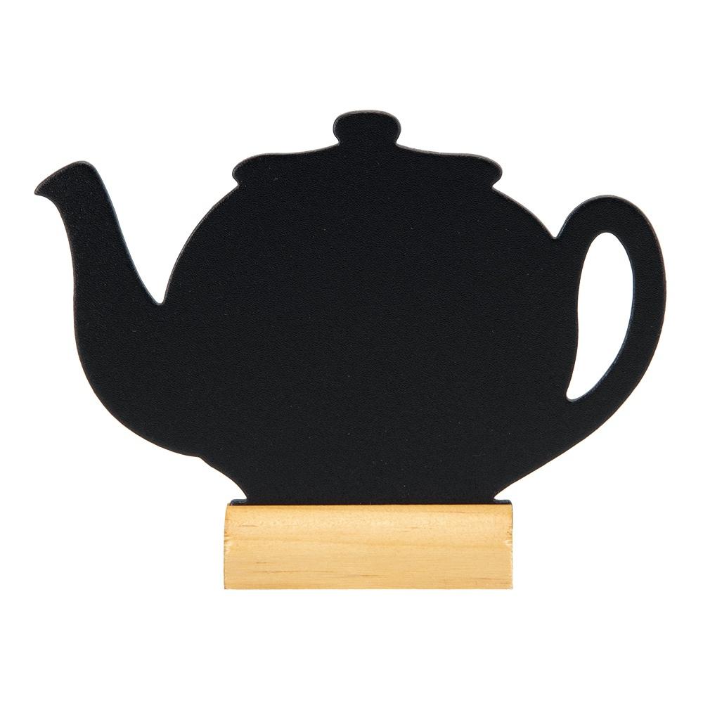 Securit Teapot Table Chalkboard & Chalkmarker