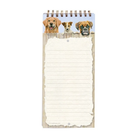 Magnetic Shopping List Pad Nosy Neighbours
