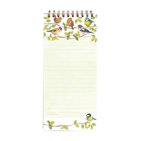 Magnetic Shopping List Pad Birds Emma Ball
