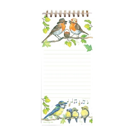 Magnetic Shopping List Pad Birdie Hats