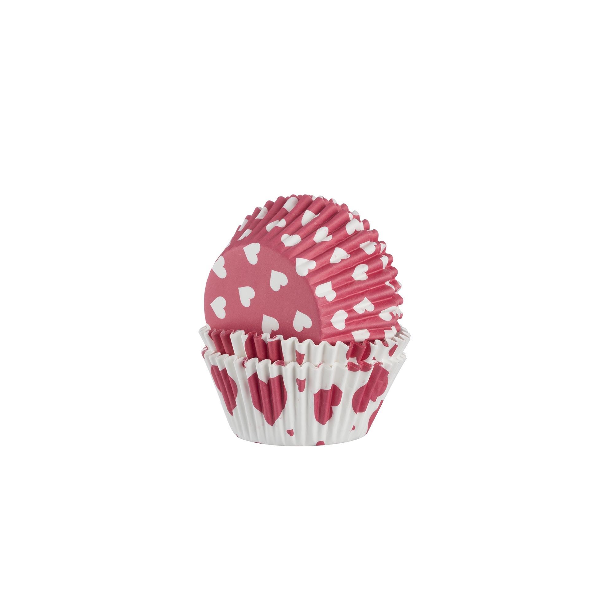 Mason Cash Cupcake Cases Heart 48