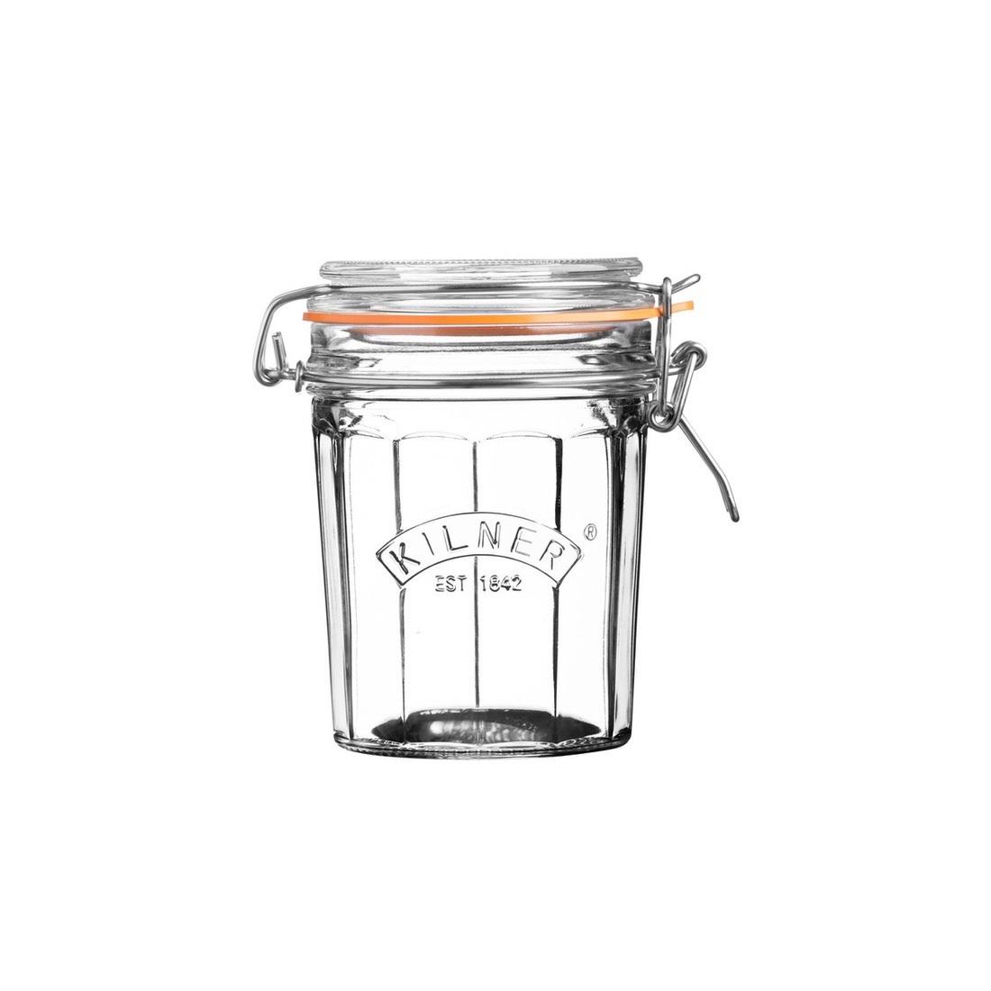 Kilner Facetted Clip Top Jar 450ml