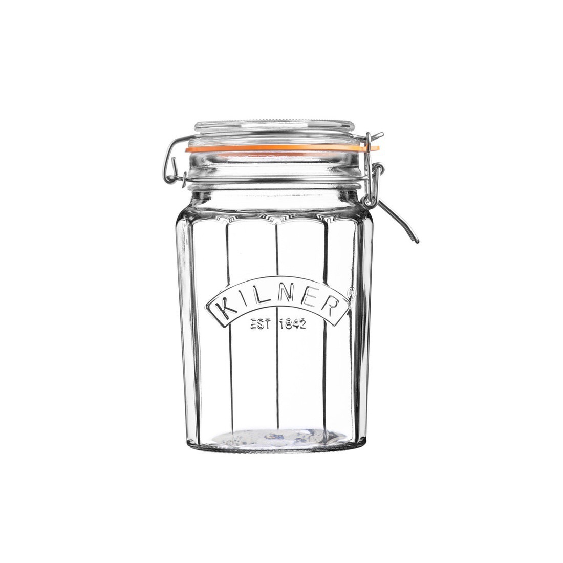 Kilner Facetted Clip Top Jar 950ml