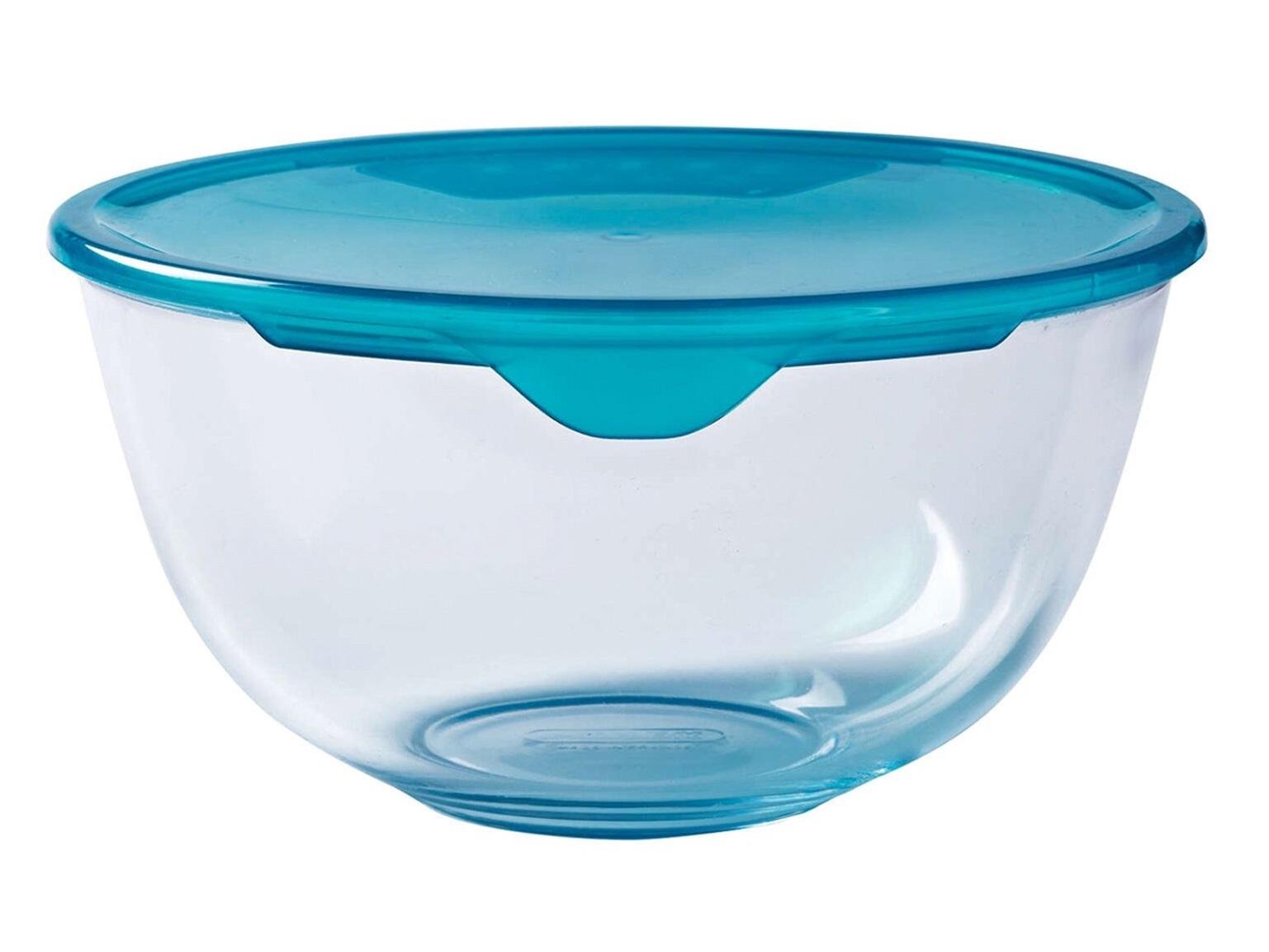 Pyrex Prep & Store Bowl With Plastic Lid 2L
