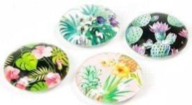 Magnets Jungle Flower Set of 4