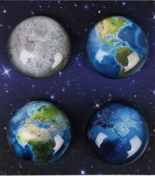 Magnets Planet set of 4