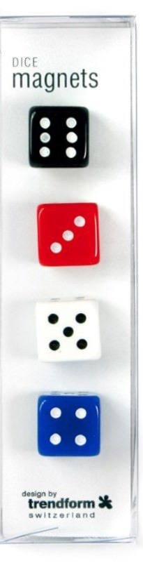Magnets Dice Set of 4