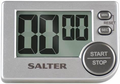 Salter Big Button Electronic Kitchen Timer