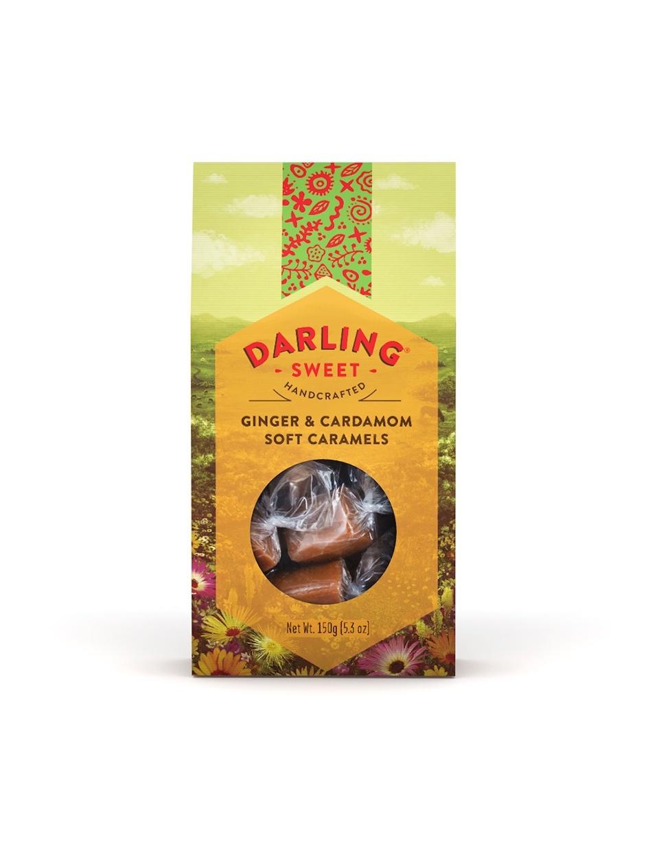 Darling Sweet Ginger & Cardamon Soft Caramels 150g