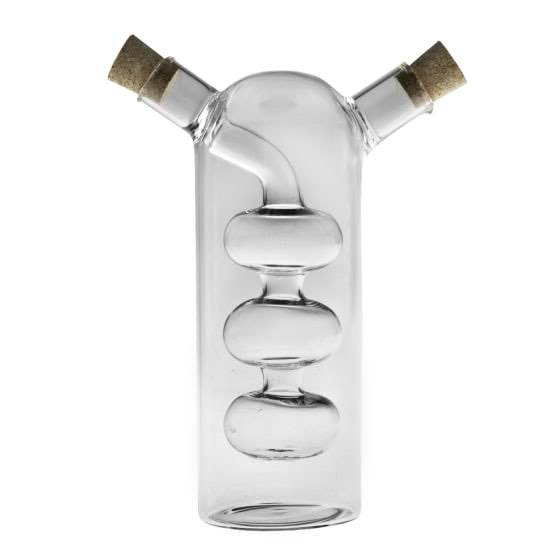 Humble & Mash Oil And Vinegar Pourer Clear
