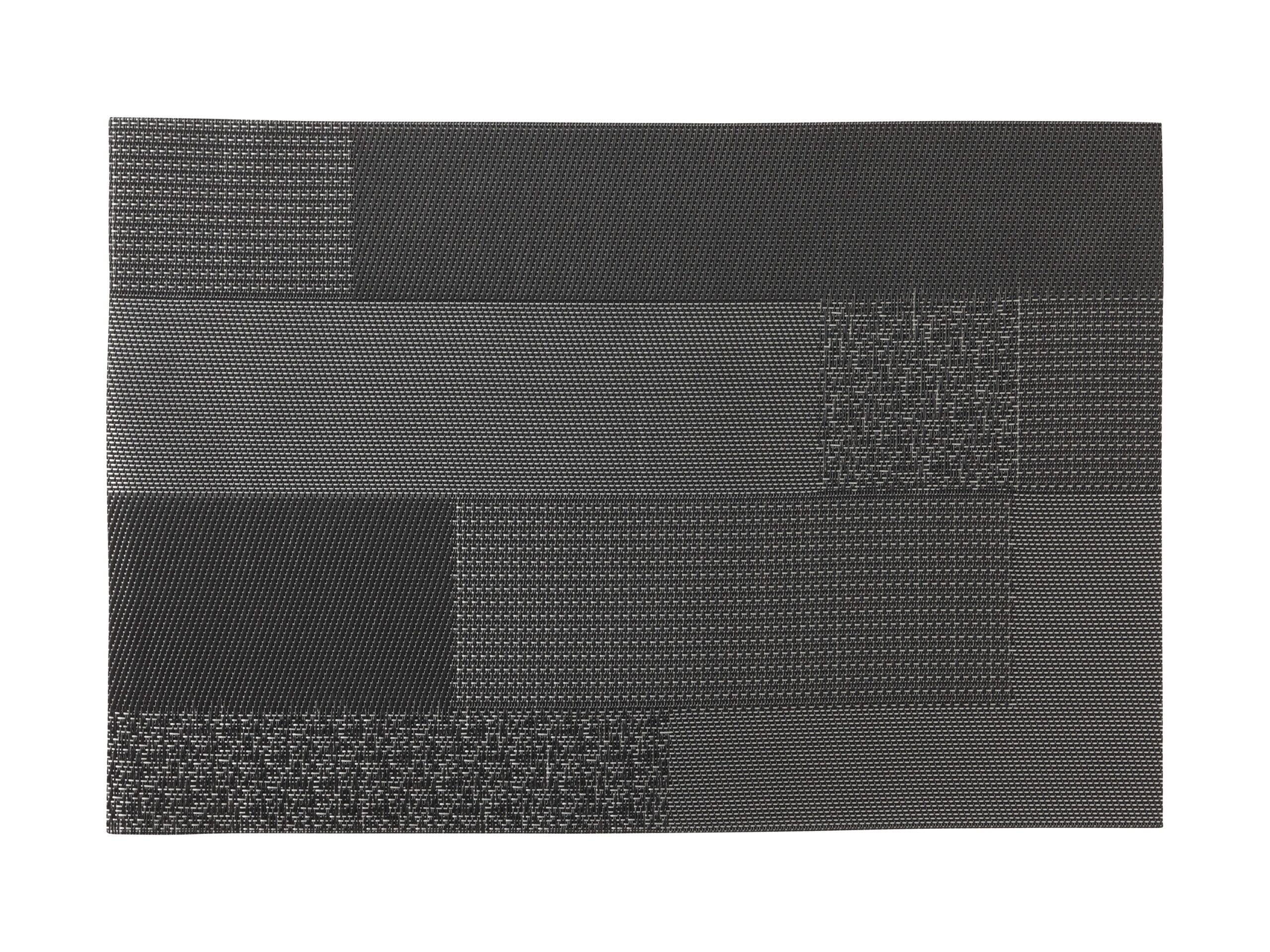 Maxwell Williams Placemat Blocks Black 45x30cm