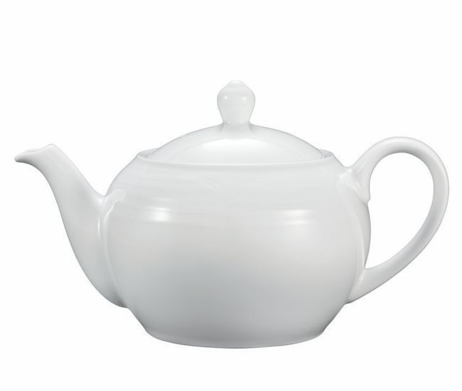 Noritake Arctic White Teapot Small 590ml