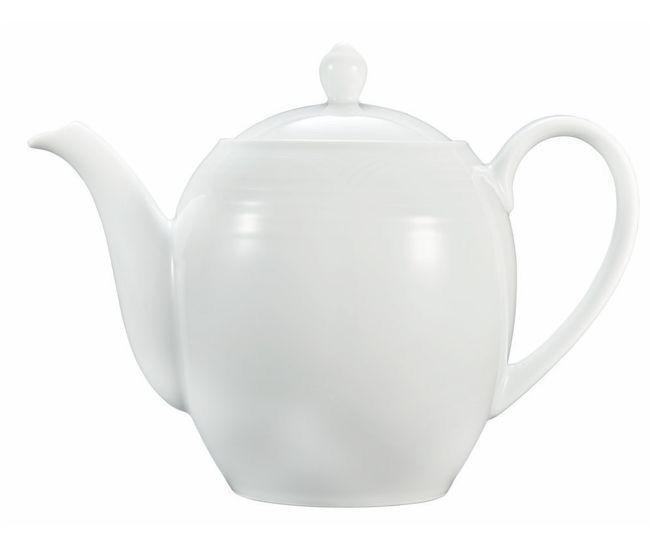 Noritake Arctic White Tea Pot Large 1.34L