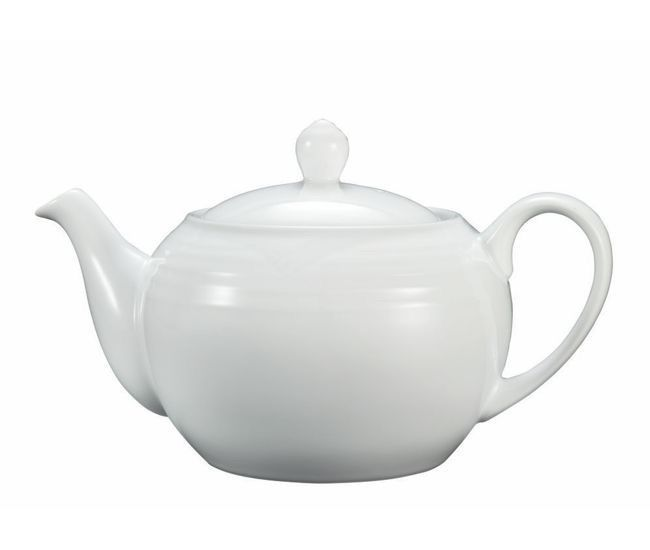 Noritake Arctic White Teapot Large 1L