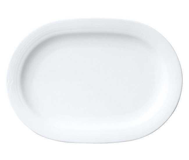 Noritake Arctic White Oval Platter Large 40.6cm