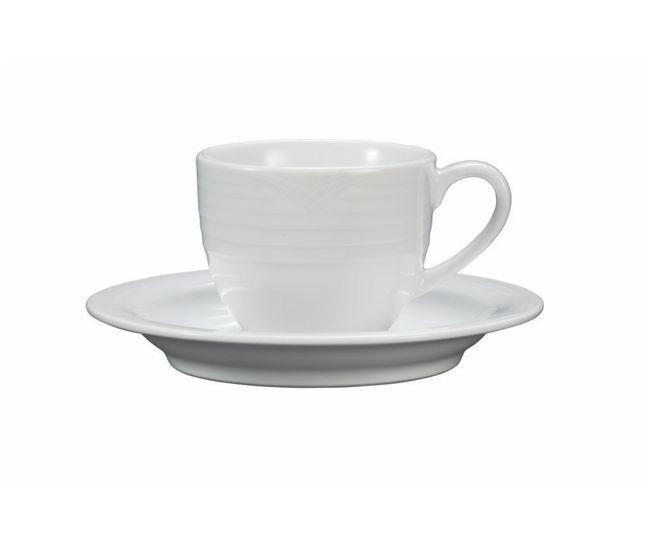 Noritake Arctic White Espresso Cup & Saucer