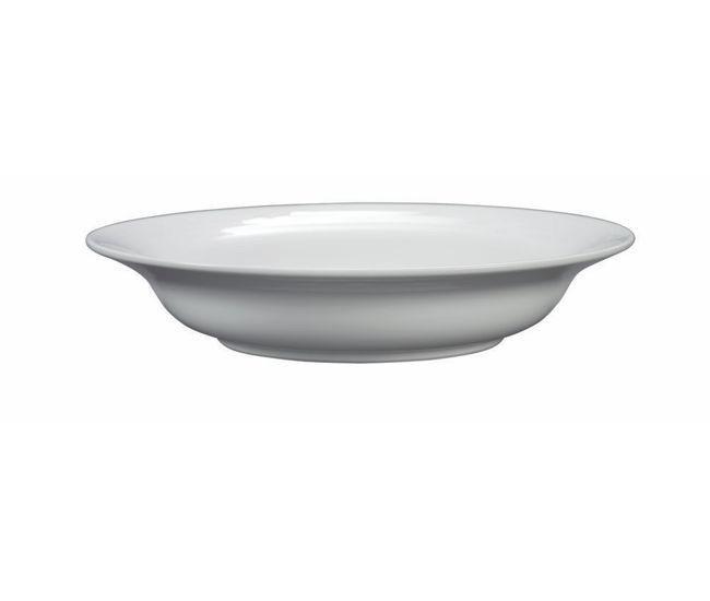 Noritake Arctic White Soup Plate 19cm