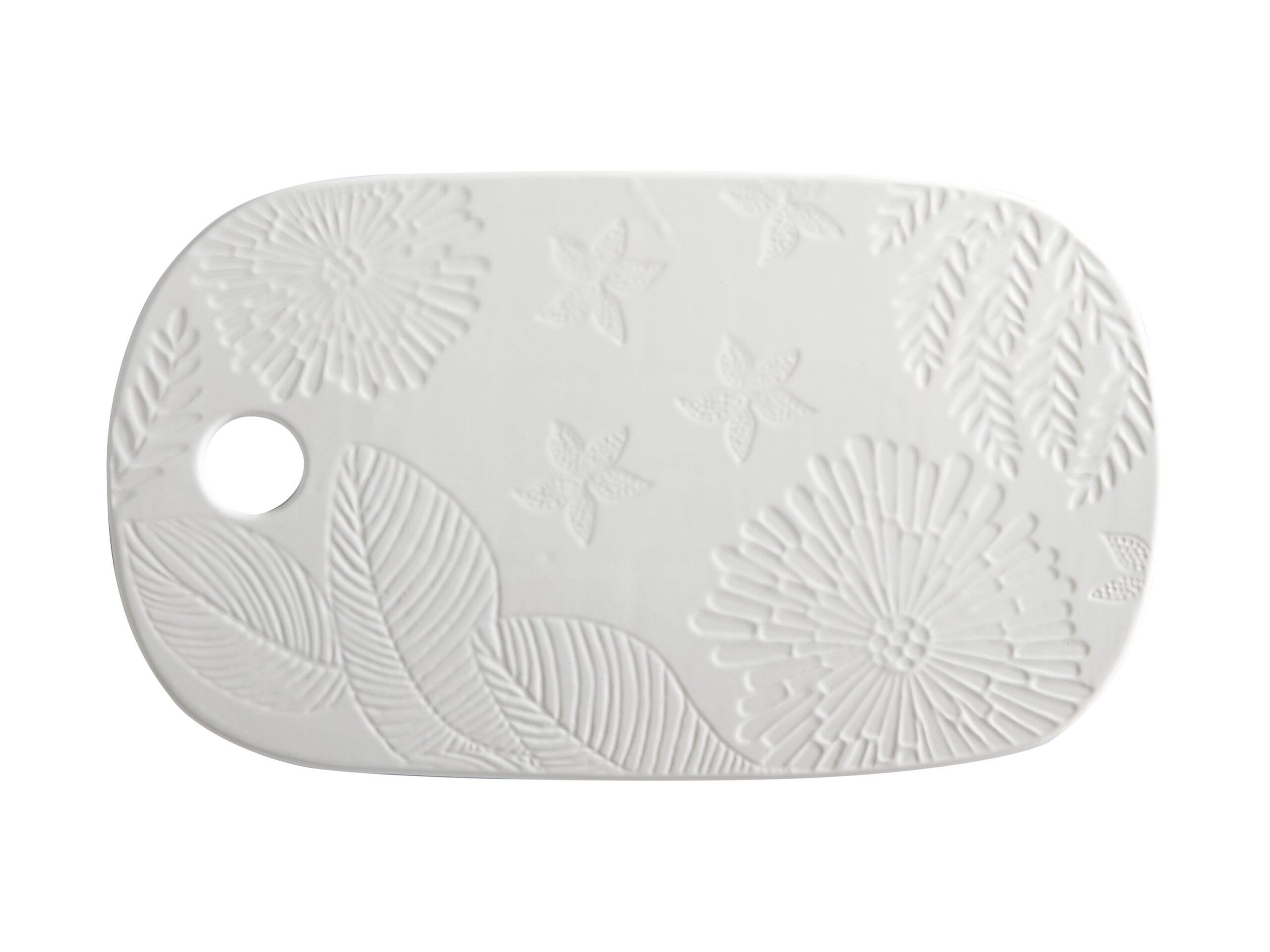 Maxwell Williams Panama Cheese Platter White
