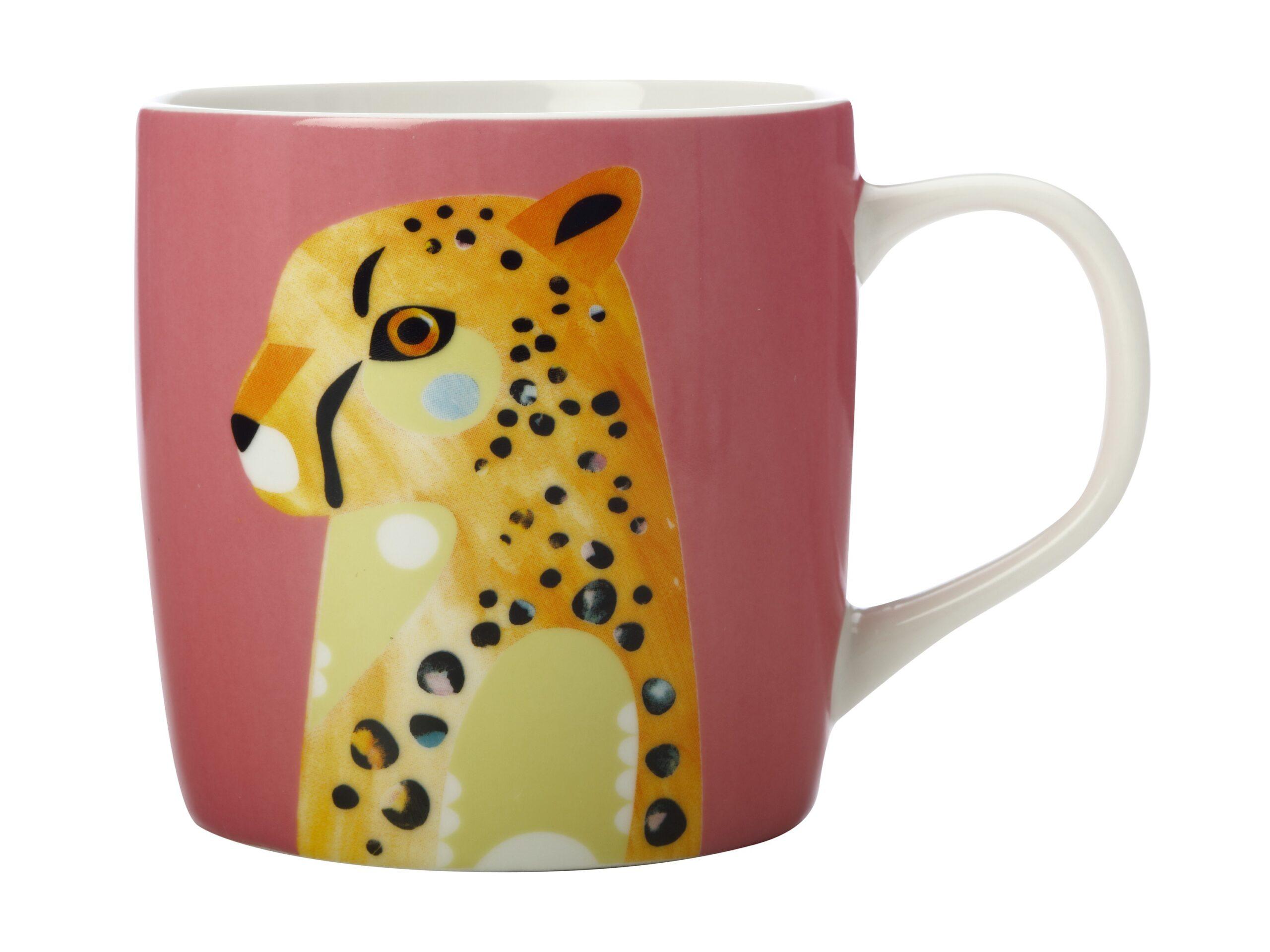 Maxwell Williams Wild Mug Cheetah 375ml