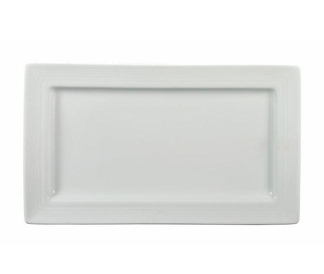 Noritake Arctic White Rect Platter 31cm