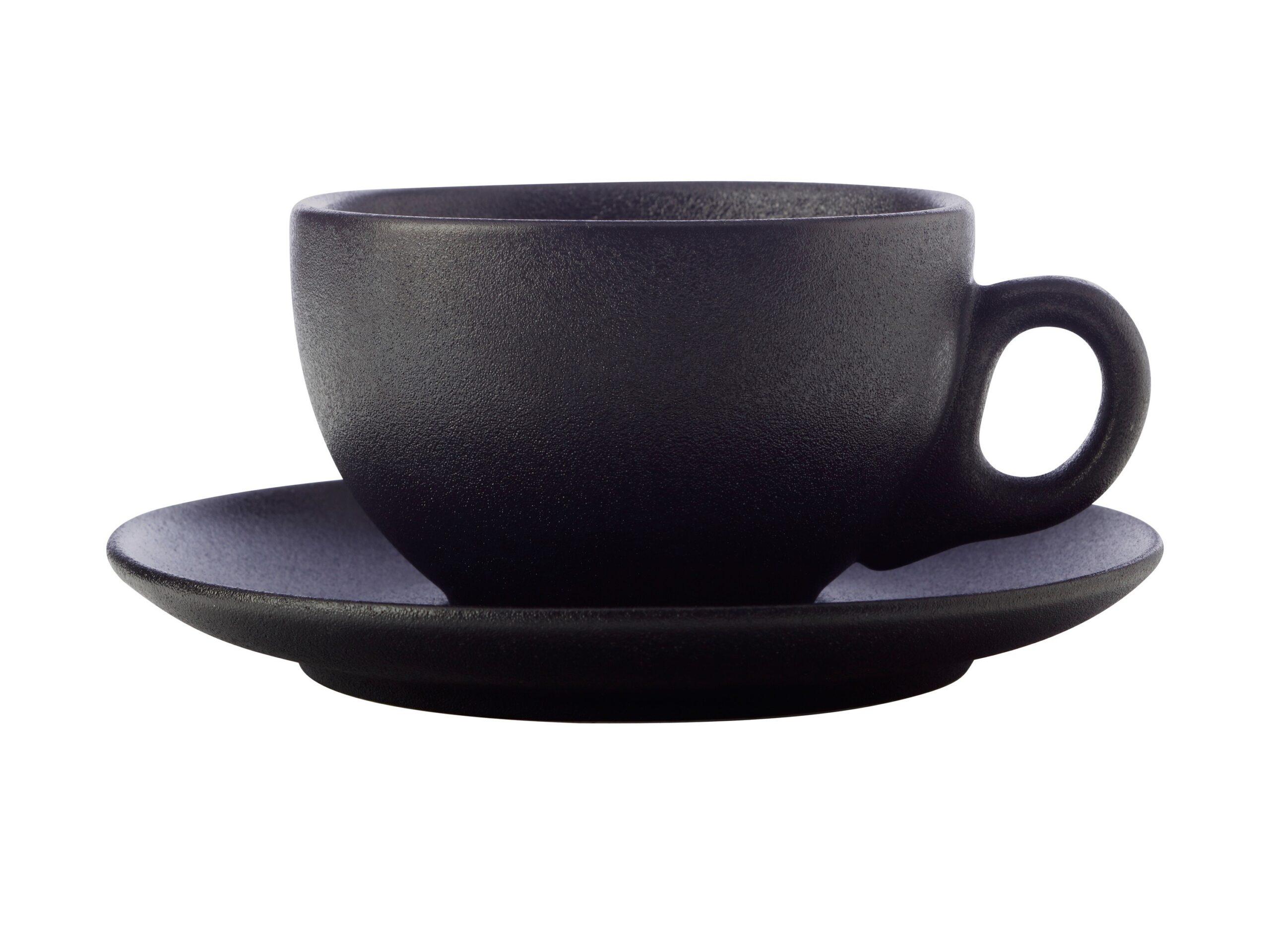 Maxwell Williams Caviar Cup & Saucer 250ml Black