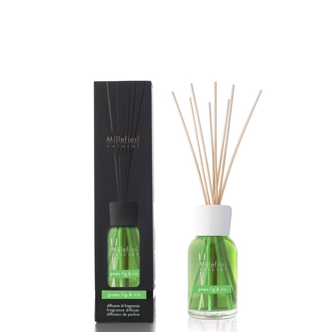 Millefiori Diffuser Reeds Green Fig & Iris 100ml